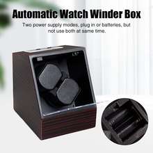 Winder-Box Watch Displaying Automatic Storage-Case Battery-Powered Plug-In Practical