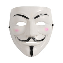 Masquerade PARTY V สำหรับ Vendetta Mask Guy Fawkes Hacker คอสเพลย์(China)