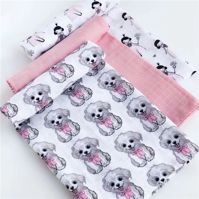 120cm*110cm Cotton Gauze Blanket Baby Blanket Cotton Baby Blanket Swaddle Wrap Muslin Bezi