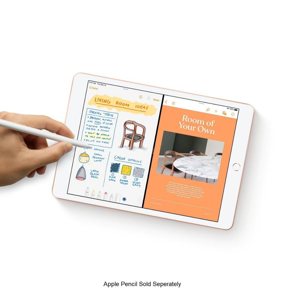 "Novo original apple ipad 2019 7th gen. 10.2 ""retina display apoio apple lápis e teclado inteligente ios tablet bluetooth 3"