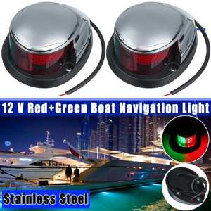 1 Pair Stainless Steel+ABS Red