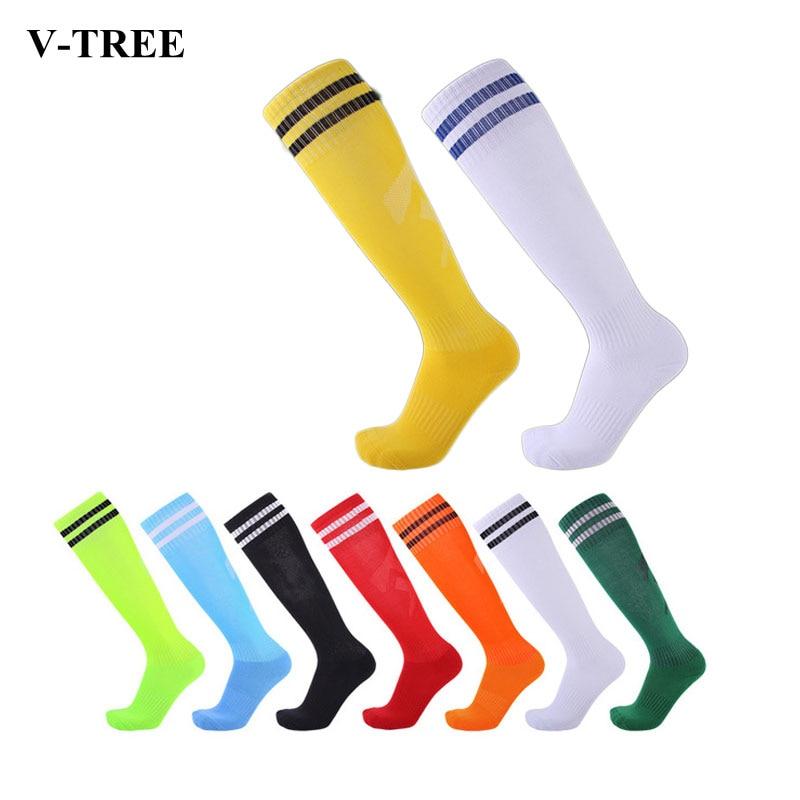 Kids Knee High Socks Adult Football Basketball Long Socks Leg Warmers For Girls Boys Slip-resistant Children Sport Socks