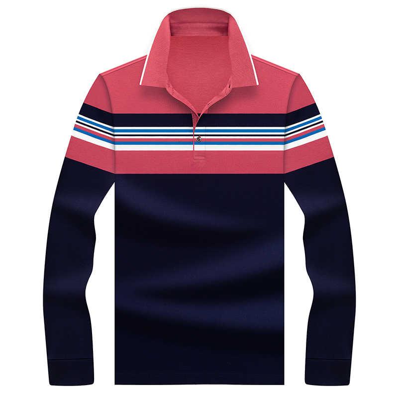 Mens Polo Shirt Basic Contrast Collar Polo Short Sleeve Polo Shirt T-Shirt New