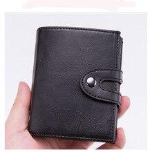 Tarjetero Hombre Pasjeshouder Cardholder Card Holder Wallet Wallet Rfid Wallet Cartera Hombre Wallet Card Etui Na Karty Cuero
