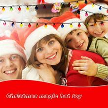 1 Pcs Plush Christmas Hat Singing Santa Claus Party That  Will Sing Dance Talk