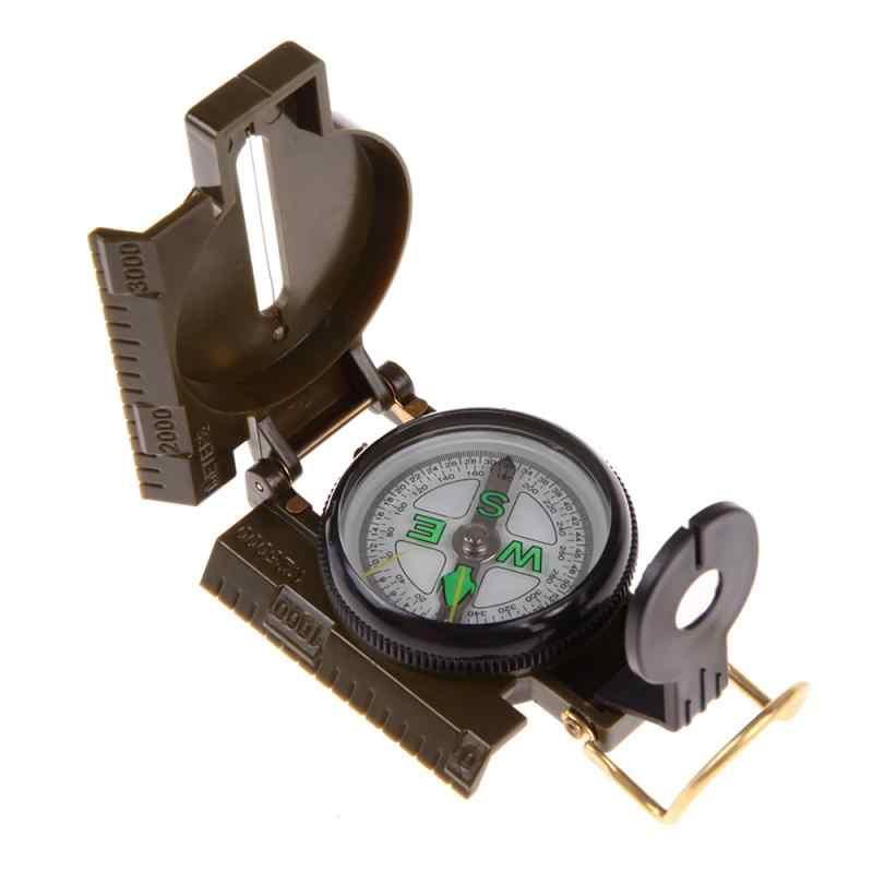 Компас портативный армейский зеленый складной объектив компас военный многофункциональный компас для лодки приборной панели Dash крепление наружные инструменты