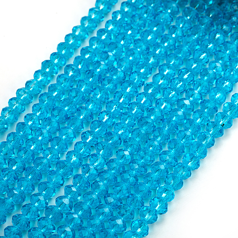 2x3 3x4 4x6 Czech Beads Crystal Faceted Rondel Glass Beads for Jewelry Making Jewelry Diy Accessories spacer beads in Beads from Jewelry Accessories