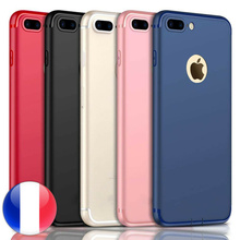 Luxe Ultra Mince Slim Silicone Coque Housse 6/7/8/Plus XR/X/Xs/Max/SE/5