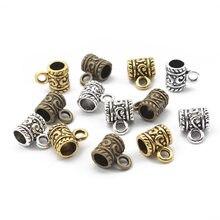 30 шт тибетские серебряные/Бронзовые/Золотые 5 мм бусины с отверстиями