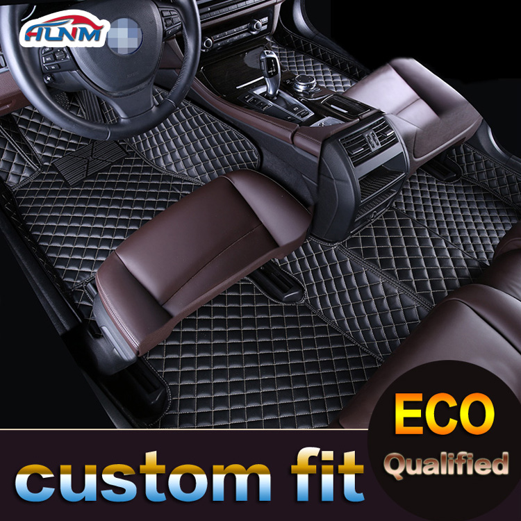 Tapis de sol de voiture pour Toyota Land Cruiser 100 200 Prado 120 150 RAV4 Camry Corolla Highlander Alphard Prius Yaris Fortuner tapis de voiture