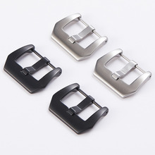 Buckle-Accessory Casio Strap 22mm Clasp 20mm for Huawei 316l-Stainless-Steel 18mm Screw
