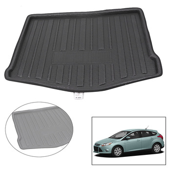 For Ford Focus 2012 Car Rear Trunk Floor Mat Cargo Mud Protector Cover image