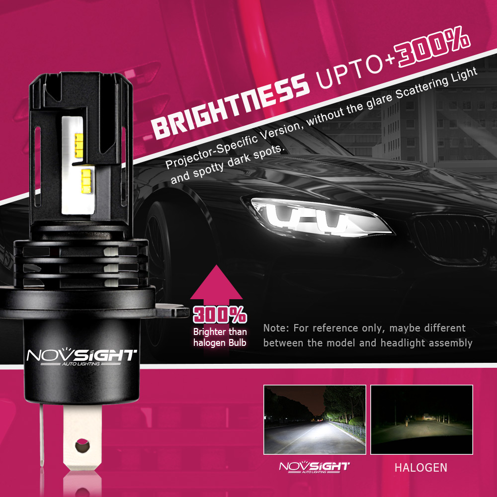 Image 5 - Fit For 99% Vehicles Mini Led Bulb Car Headlamp H7 H4 H8 HB3 H9 HB4 H11 9005 9006 H1 H3 6000K 10000LM 12V 55W Led Headlight-in Car Headlight Bulbs(LED) from Automobiles & Motorcycles