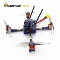 DarwinFPV-Dron cuadricóptero versión DIY F4 OSD 30A BLHeli_S Dshot600 40CH 25mW CADDX 1200TVL, Darwin59S 116mm