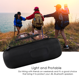 Image 5 - Protable EVA Hard Travel Protective Case For JBL charge4 charge 4 Wireless Bluetooth Speakers & Extra Space with Accessories