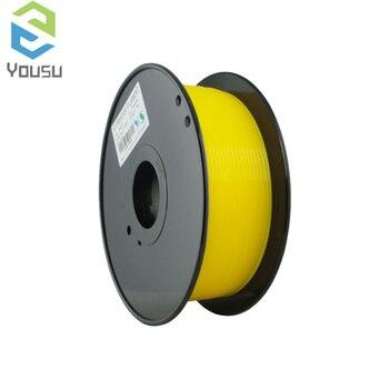 Filamento de NYLON Yousu/consumible de impresora 3D amarilla/340M 1kg 1,75mm/PLA ABS de alta calidad Moscú Rusia