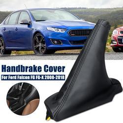 اليد الفرامل التمهيد السيطرة فرملة اليد غطاء بولي Leather الجلود والعتاد التحول المقبض رافعة غطاء للفورد فالكون FG FG-X XR6 XR8 سبرينت 2008-2018