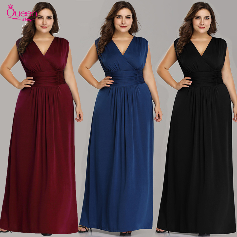 Evening Dresses Long Dresses Plus Size Party Gowns A-line Sweetheart Zipper Back Floor-Length Prom Dresses Fashion Wedding Guest