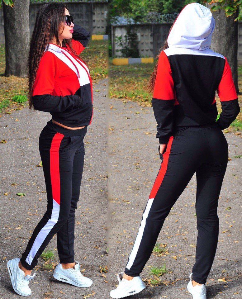 2019 New Autumn Women's Knitted Two-piece Casual Sports Suit Shirt + Pants 2 SetsClub Outfit Women Set