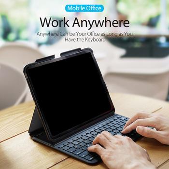 Replacement for iPad Pro 11inch Tablet Bluetooth Keyboard Case Slimshell Stand Cover Wireless Keyboard