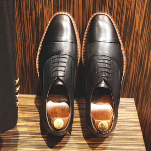 Image 3 - DESAI Brand Italian Handmade Design Vintage Mens Casual Oxford Shoes Formal Luxury Party Wedding Real Genuine Leather Shoes Men