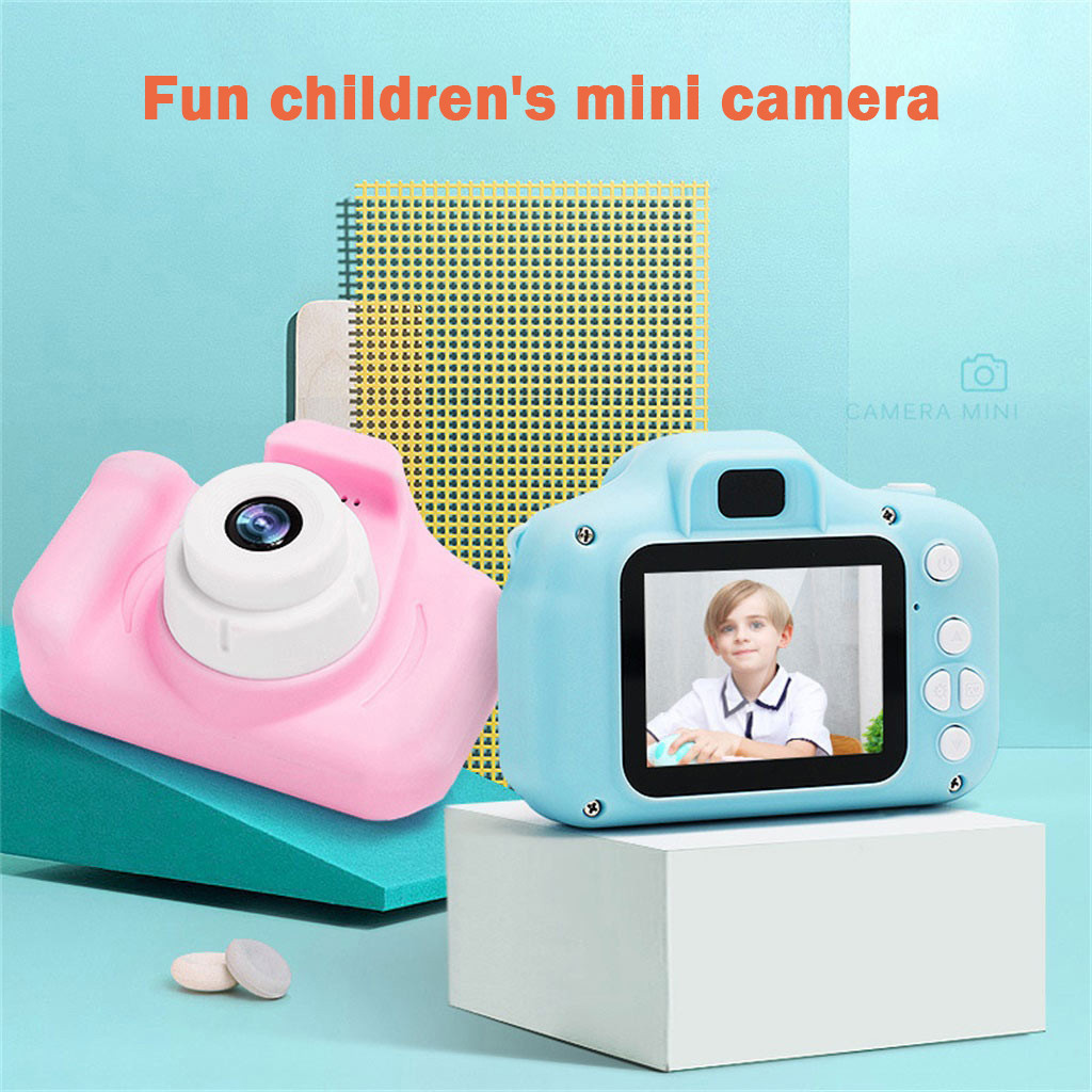 Gifts For Kids Educational Toys For Children Gift Toy Kids Camera Digital Mini HD 1080P Cartoon Cute Camera Outdoor Photography
