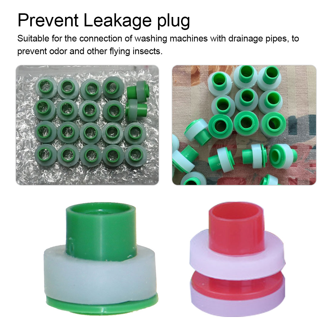 20pcs/set PPR Pipe Plugs 1/2