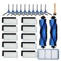 Сменные детали, аксессуары для Eufy RoboVac 11S 12 30C 15T 15C 35C, первичные фильтры, боковые щетки, вращающиеся щетки