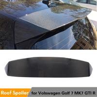 Carbon Fiber Rear Roof Spoiler Windshield Wing Lip for Volkswagen VW Golf 7 MK7 VII GTI R 2014 2019 Hatchback Spoiler