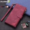 Чехол-кошелек на молнии для Samsung Galaxy S21 S20 FE S10E S9 S8 Note 20 10 9 8 Ultra Plus Lite S6 S7 Edge, кожаный чехол-книжка для телефона