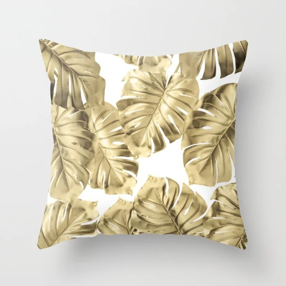 Tropical Leaf Cactus Monstera Cushion Cover Polyester Throw Pillows Sofa Home Decor Decoration Decorative Pillowcase 40506-1 (11)