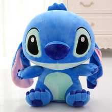 Pillow Animal-Toys Peluches Stuffed Plush Cute Stitch Grandes Pendant-Cushion Gift Cotton