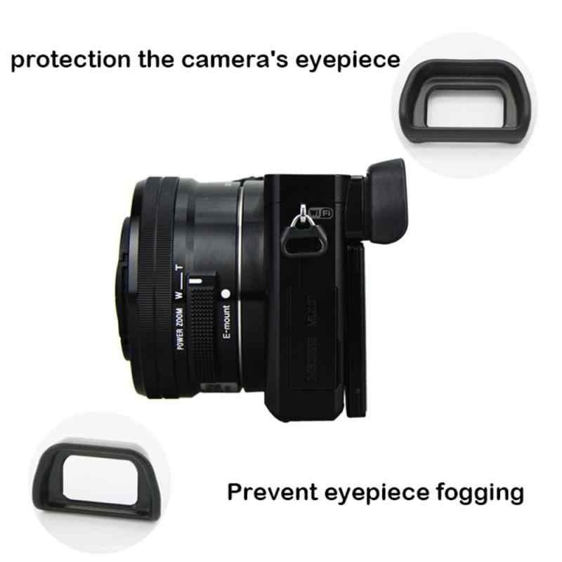 Protetor de plástico capa caso para sony nex7, nex6, a6000, a7000, FDA-EV1S câmera lente tampa da tela película protetora