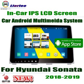 """9"""" HD Full Touch IPS LCD Screen Android 8 Core For Hyundai Sonata 2018~2019 Car Radio Stereo Audio Video GPS Navigation System"""