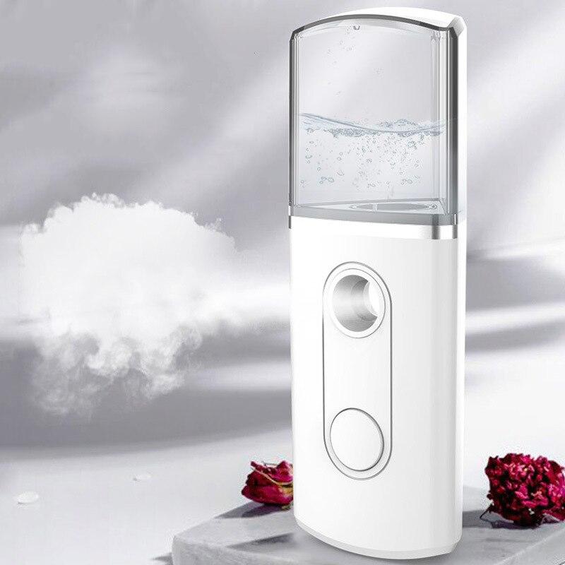 Nano Facial Mister Mist Spray atomización cara rociador a vapor hidratante cuidado de la piel belleza instrumentos humidificador de aire      - AliExpress