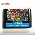 1G Speicher Spiel Karte 112 in 1 Für 16 Bit Spiel Karte Für Sega Mega Drive MD für Megadrive
