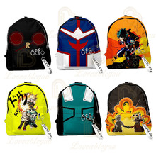 Backpacks Academia School-Bags Anime My Hero Women Multi-Pocket 3d-Print