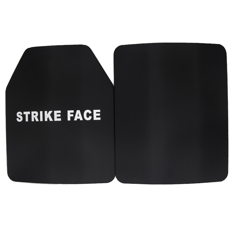 2pcs/lot 25*30cm NIJ IV Bulletproof Plate Against AK 47 Ballistic Steel Armor Plate For Military Bulletproof Vest