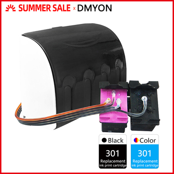 DMYON 301XL CISS Bulk Ink Replacement for HP 301 for Deskjet 1050 2050 2050s 3050 Envy 4500 4502 4504 5530 5532 5539 Printer цена 2017