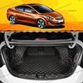 Lsrtw2017 кожаный коврик для багажника hyundai elantra Avante  2011  2012  2013  2014  2015