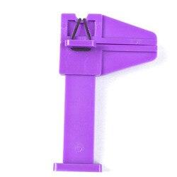 2pcs/Bag Nail Pinch Clamp, 3 Colors (Purple,Pink,Black) Pinch Clamp 4.3x6.8cm Holder Nail Manicure Kits Tools Pinch Clamps x2pcs