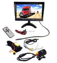 1280*800 10.1 polegada cor tft monitor do carro + ip68 starlight night view veículo sistema de estacionamento da câmera do carro