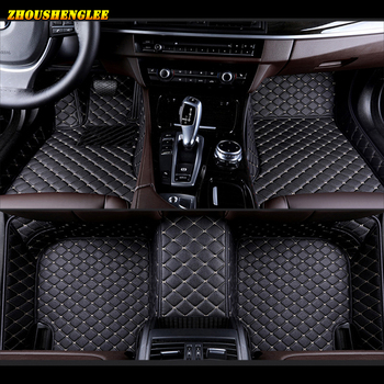 zhoushenglee Custom car floor mats for Fiat All Models palio viaggio Ottimo Bravo Freemont 500 auto accessories car styling image