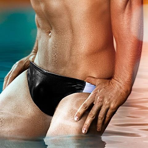 Austinbem Triangular Swimming Trunks-Style Swimming Trunks Sexy MEN'S Swimsuit MEN'S Swimming Trunks