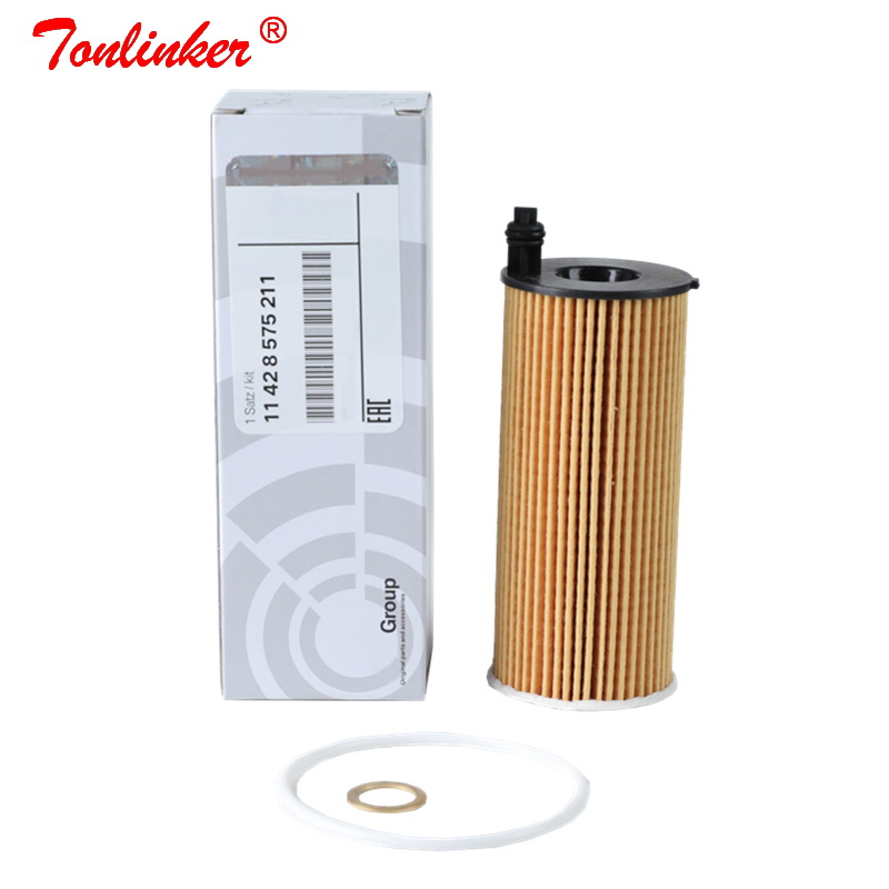 Oil Filter 1Pcs For BMW F34 F31 F30 F80 316d 318d 320d 320i 330i/F33,F83,F32,F82,F36 418d 420d/F10 F11 518d 520d Oem:11428575211