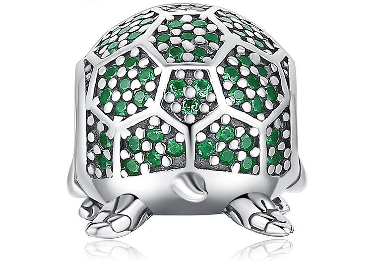 H7f5a9f434ed440e99b906718497415bck JewelryPalace Turtle 925 Sterling Silver Beads Charms Silver 925 Original For Bracelet Silver 925 original Beads Jewelry Making