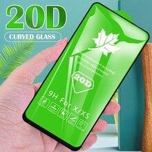 20d capa completa de vidro para vivo y20i y20 y30 y20s y30i protetor tela vidro temperado película protetora