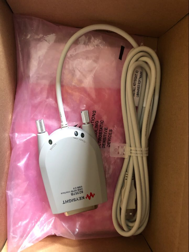 82357B 1PCS 82357B USB-GPIB USB/GPIB Interface High-Speed USB 2.0 Not Box