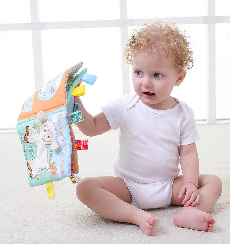 baby soft cloth books