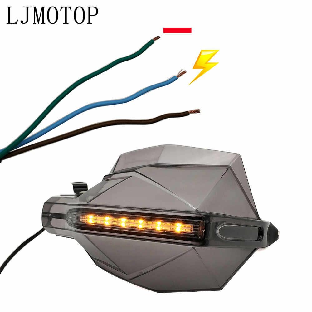 オートバイハンドガードハンドルプロテクターチェーングローブ led 信号光ガス GAS EC 2T 4T FSE/ FSR RR/RS HUSQVARNA TC125 TE125